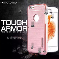 aluminium cover pc - Fashion Design Cell Phone Cases Hybrid Brushed Metal Aluminium Alloy PC Case Cover for iphone and Samsung