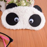 antivirus panda - 2014 New New Arrival Freeshipping Bangtan Boys Super Soft Plush Panda Eye Mask Hair Sedative Sleep Goggles Student Gifts