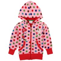 Wholesale Children s Outerwear Girl s Coat Baby sCoat Coat Sports Coat Autumn Clothing Add Wool Standard Regular Hallowmas Christmas