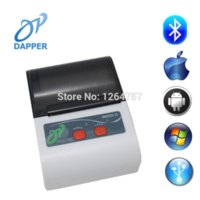 Wholesale mm Mobile Bluetooth Thermal Printer for Android BM9000 II Portable Bluetooth Printer Printers Cheap Printers