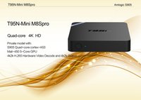Wholesale Amlogic S905x T95N Mini MX Android TV BOX Kodi Android K VS MXQ S805 S905 M8S T95 TV BOX