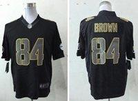 antonio brown steelers - men Pittsburgh football Jerseys Steelers Antonio Brown Rush Hyphenation cheap shirts