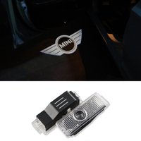 Wholesale LED Car Door Welcome Light Laser Car Door Projector D Shadow Logo For Mini countryman clubman cooper one S R36 R56 R57 R58