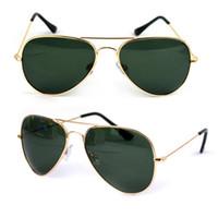 Wholesale Hot AAA Quality New Brand Designer Women Mens Unisex Sungalsses Vintage Eyewear UV400 Sport Cycling Driving Sun glasses Size mm mm