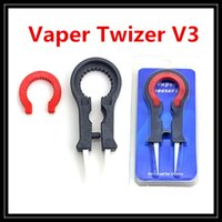 adjustable spanner tool - Ceramic Vaper Twizer V3 Vaper Tweezer III Wrapping Coiler Adjustable Wire Spanner Tool Kit Insulated And Heat Resistant For DIY RDA Vape