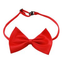 Wholesale New Fashion Cute Pet Bowknot Tie Bow TieNecktie Collar Pet Clothing Dog Cat Puppy