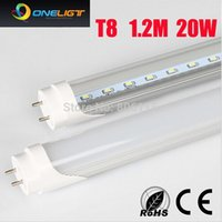 Wholesale W MM T8 LED Tube Light High brightness Epistar SMD2835 LM PC led PC LM AC85 V