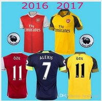 arsenal prints - Thai Quality Arsenal Soccer Jerseys OZIL WILSHERE RAMSEY ALEXIS rugby jerseys football shirt