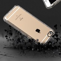 TPU absorbent gel - iPhone Case Advanced Shock absorbent Scratch resistant Cover Case with Transparent Flexible TPU Gel Bumper for Apple Iphone s plus s