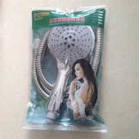 Wholesale Multifunction Shower Shower Nozzle Suits Take a Shower Hose Three piece Suit Bag Packaging Drop Shipping