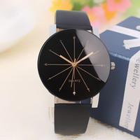 Wholesale 2016 Casual Watches Men Luxury Top Brand New Fashion Men Big Dial Designer Quartz Watch Male Wristwatch Relogio Masculino relojes For Couple