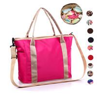 Wholesale 2016 new style fashion and elegant nylon Polka Dot printing lady handbags Multi function mummy Totes bag