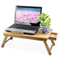 bamboo tray tables - Folding Laptop Notebook Computer Desk Bed Tray Table Portable Bamboo Laptop Desk