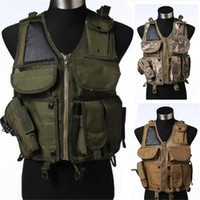 Wholesale Tactical Military Airsoft Paintball Hunting Combat Vest with Mag Holster