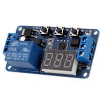 Wholesale Digital LED Automation Delay Timer Control Switch Relay Module Display V New