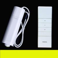 Wholesale 2016 Hot Sale Original Dooya Electric Curtain Motor DT52E W Smart home Electric Curtain Motor With Remote Controller
