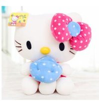Wholesale Best High Quality cm Hello Kitty Plush Toys cm Doll Birthday Gift for Children Valentines KT Cat