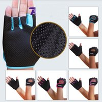 Wholesale Outdoor sports men and women half finger gloves wrist gloves fitness cycling climbing slip breathable riding supplies