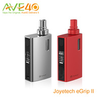 Cheap New Joyetech eGrip II OLED Electronic Cigarettes eGrip v2 80W Kit 2100mah eGrip 2 VW TC Vape Mods 3.5ml atomizer VS eGrip VT CL vape kit