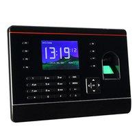 Wholesale Good Quality quot Color Screen Biometric Fingerprint Attendance Machine F6151A