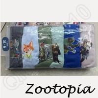 Wholesale 360lot CCA3774 High Quality Cartoon Zootopia Batman Minions Bird Star Wars Baby Boxers Underwear Breathable Antibacterial Underpant
