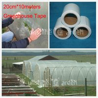 Cheap Wholesale-Extra Strong Greenhouse Film Repair Tape Patch 20cmx 10 Meters - Poly Tape UV Resistant clear Color