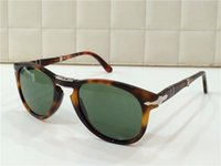 big half - Persol sunglass oversized sunglasses pilot shape plastic frame retro men design glasses lens big frame folding design large size mm