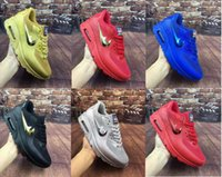athletic footwear logos - 2016 New MAX Hyperfuse USA Plating Logo Men Running Shoes sneakers Athletic Trainers Footwear Tennis Casual Shoes