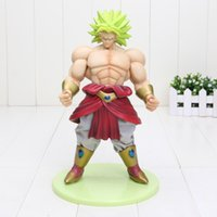 Wholesale MegaHouse Dimension of Dragon Ball Z D O D DOD Broly PVC Action Figure CM Figuarts Collectible Model Toy DBZ Figuras