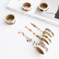 Wholesale year two class the original girl series easy peel off stickers and paper tape pocket DIY handmade decorative tape