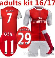arsenal away kit - 2016 Arsenal kit socks Jerseys shirts WILSHERE OZIL WALCOTT RAMSEY ALEXIS price Jersey home and away AAA