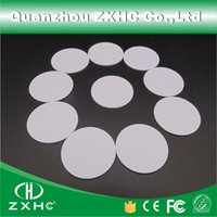 android coin - Round Shape mm NFC Tag Ntag213 Ntag203 is compatible Plastic PVC Coin Cards Used For Android IOS And All NFC Phone