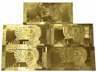 africa business - 2016 Hot Sales New Creative Gifts Of South Africa Gold Foil Commemorative Banknotes Novelty Home Furnishing Decorative Gift