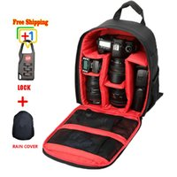 best waterproof digital camera - Best Selling Waterproof Medium Bag to Camera Bolsa Brand Designer DSLR Camera Backpack Professional Digital Camera Case Bag