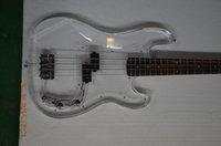 bass guitar canada - custom guitar shop precision electric bass guitar Acrylic body Canada maple neck rosewod fingerboard