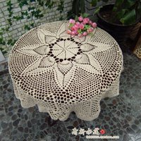 appliance covers - 2014 new fashion cotton crochet lace tablecloth table cover for wedding decor towel for home table runner home appliances cover