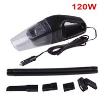 Wholesale Hot Portable Car Vacuum Cleaner W V Handheld Mini Super Suction Wet And Dry Dual Use Vaccum Cleaner For Car Colors