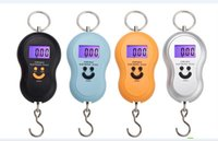 Cheap 500pcs  40kg 10g Portable Electronic Digital Scale Hanging Scale Fishing Fish Hook Pocket Weighting Balance Scale Fashion New LCD Scale