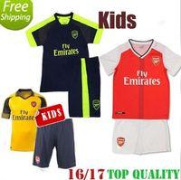 arsenal away shirt - 2016 Arsenal Away home RD Jerseys WILSHERE OZIL WALCOTT RAMSEY ALEXIS KIDS shirt