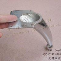 adjustable cabinet hardware - Bathroom TV cabinet foot aluminum adjustable foot metal hardware table foot stool foot bed