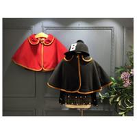 baby poncho pattern - Poncho Winter Autumn Fashion Children s Cotton Cloak Baby Girls Cape Pattern Kids Girl Coats Jackets Shawl