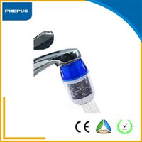 Wholesale PHEPUS High quality household pre filtration small tap water filter with zeolite kitchen faucet water filter with activated carbon