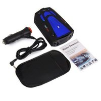 Wholesale Blue Car Anti Police GPS Radar Detector Band X K NK Ku Ka Laser VG V7 LED