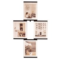 acrylic nail pictures - LEGGY HORSE Wall or Desktop Decor Detachable DIY Innovative Flexible Transparent Acrylic Photo Picture Frames with Nail quot x quot Set of