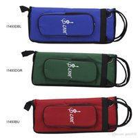 Wholesale LADE Thicken Padded Drum Stick Bag Water Resistant Oxford Cloth Gig Case with Shoulder Strap
