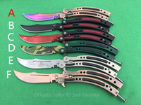 Wholesale New JL Cross Fire CF bm42 knives stainless steel bowie Tactical knife EDC Pocket knife Survival gear with Spring latch