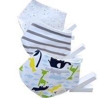 baby clothes napkins - 3pcs packed Cotton Baby Bib baby napkin slobber Baby Bib Clothing Kids Apron Saliva Towel Infant Scarf Handkerchief towel