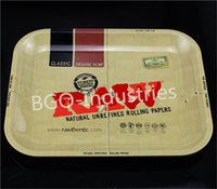 Wholesale The new RAW classic pure brass plate XL large CM pallet tray roll PC popular style