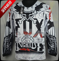 uv t-shirt - FOX T shirt wicking perspiration new off road motorcycle riding T shirt T Shirts downhill T shirt Breathable Anti UV