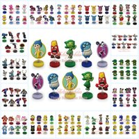 Wholesale DHL EMS My Little Pony Inside Out Despicable Me Avengers frozen Ninja Turtles Spring dolls Action Figures car furnishing Stand up dolls